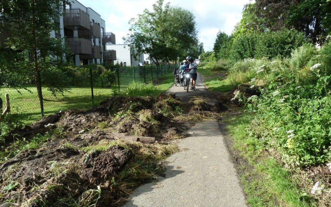 Inondations en Wallonie : infos sur l'état du RAVeL
